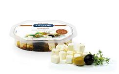 Taverna Cheese - Salad Cubes (Olive) [100g]