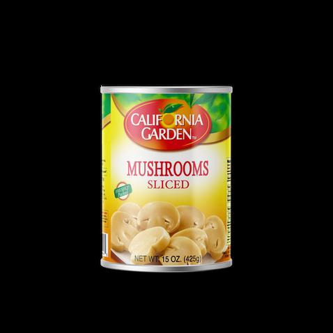 California Garden Mushrooms (Sliced) 425g