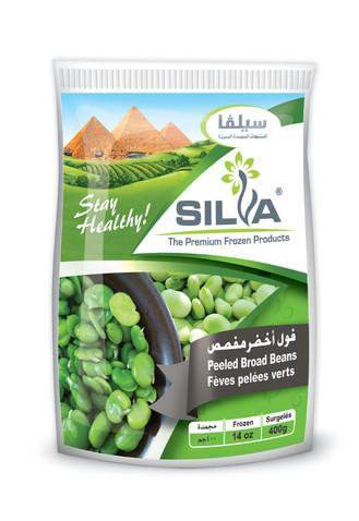 Silva - Frozen Broad Beans (Peeled) [400g]