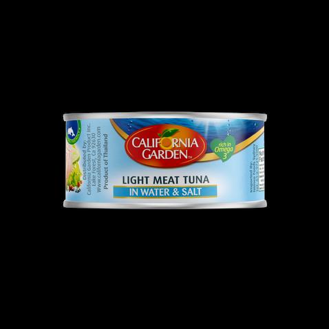 California Garden Tuna (Water) 185g