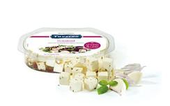 Taverna Cheese - Salad Cubes (Garlic) [100g]