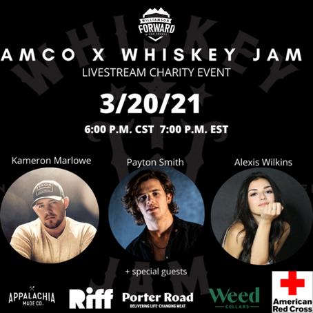 AMCO Whiskeyfest Goes Virtual to Raise Money & Awareness for WV Communities Affected by Flooding
