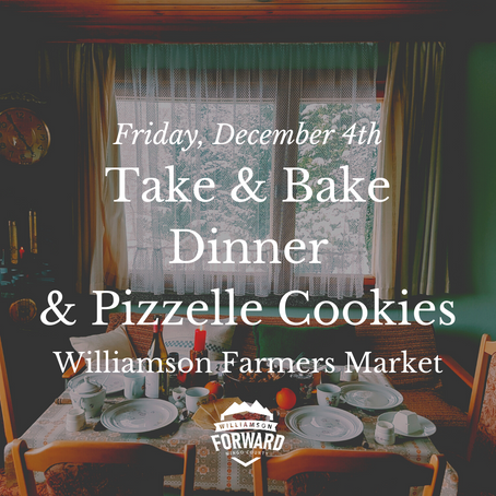 Take & Bake Dinner and Pizzelle Cookies