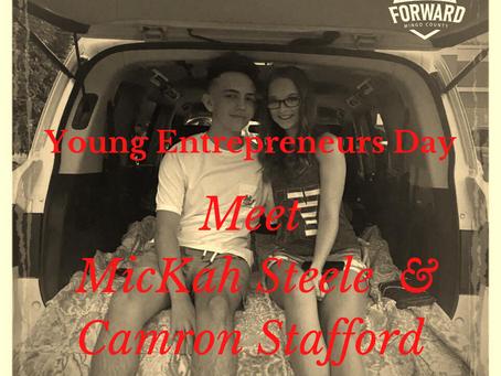 YED 2020 Spotlight: MicKah Steele & Camron Stafford