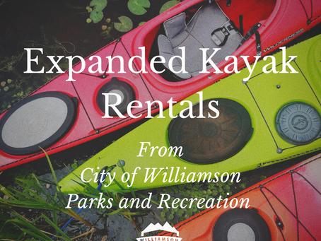 Kayak Rentals for the Tug Fork River and Laurel Lake