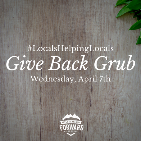 Give Back Grub: #LocalsHelpingLocals