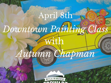 Downtown Painting Class with Autumn Chapman: Paint a Happy Little Car!