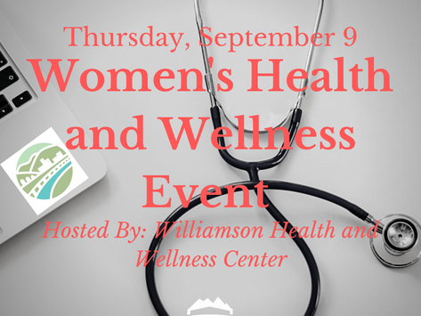 Women's Health and Wellness Event Hosted by Williamson Health and Wellness Center