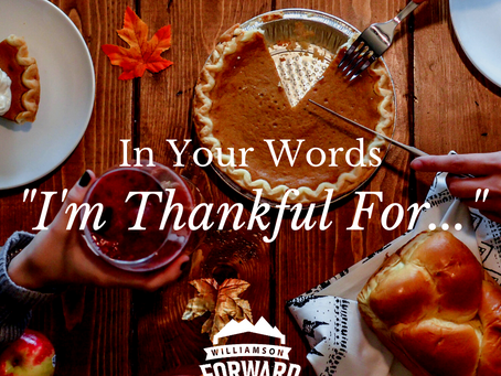 """In Your Words: """"I'm Thankful For..."""""""