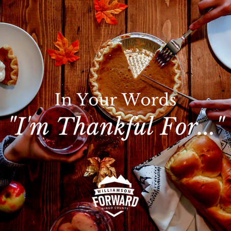 "In Your Words: ""I'm Thankful For..."""