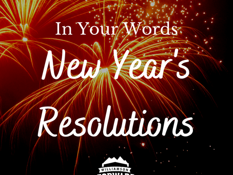 In Your Words: New Year's Resolutions