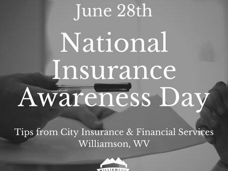 National Insurance Awareness Day Tips from City Insurance & Financial Services