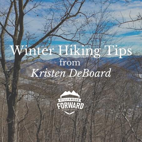 Winter Hiking Tips from Kristen DeBoard
