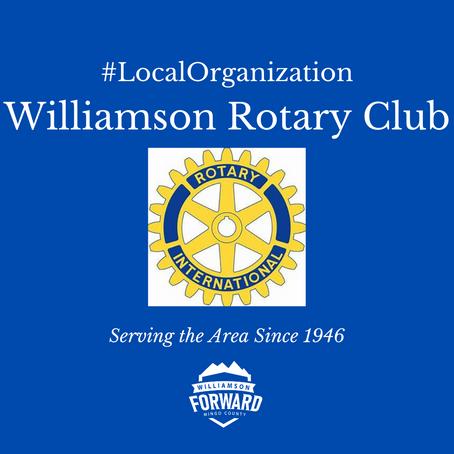 #LocalOrganization: Williamson Rotary Club