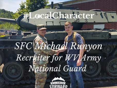 #LocalCharacter: SFC Michael Runyon, WV Army National Guard