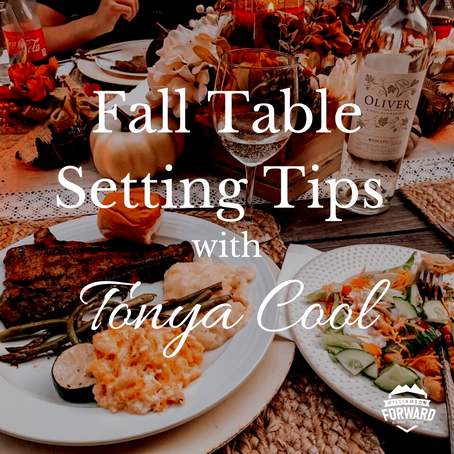 Cool Fall Table Setting Tips