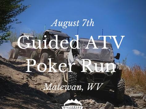 Guided ATV Poker Run in Matewan, West Virginia