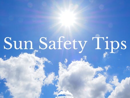Spending Time Outside in the Summer Sun? Here's Some Sun Safety Tips!