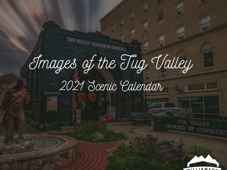 Images of the Tug Valley 2021 Scenic Calendar