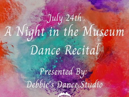 Dance Recital: A Night in the Museum