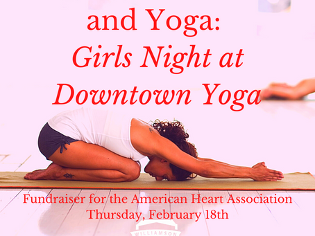 Coffee, Chocolate, and Yoga: Girls Night at Downtown Yoga