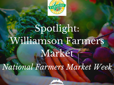 Spotlight on Williamson Farmers Market for National Farmers Market Week