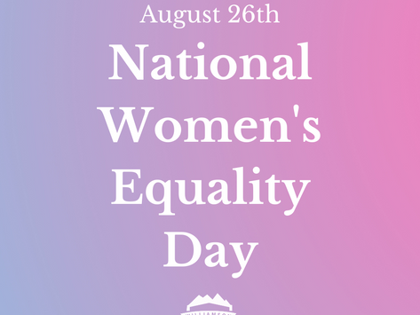 #InYourWords: National Women's Equality Day