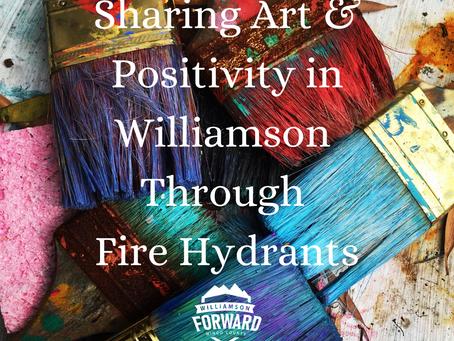 Art + Positivity + Fire Hydrants = One Great Project