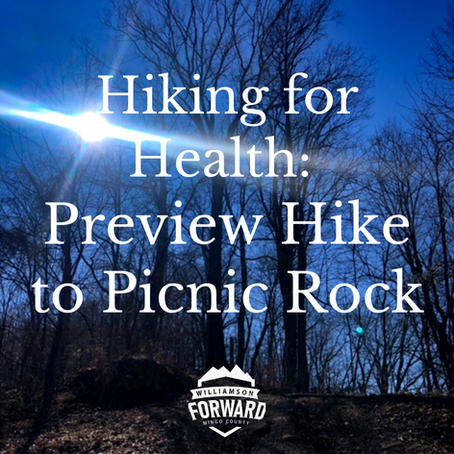 Hiking for Health: Preview Hike to Picnic Rock