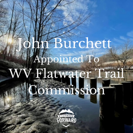 John Burchett Appointed to WV Flatwater Trail Commission