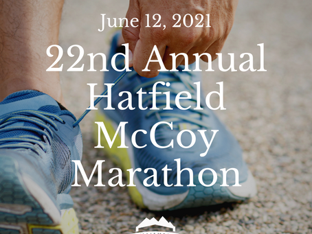 The Hatfield McCoy Marathon Returns on June 12th!