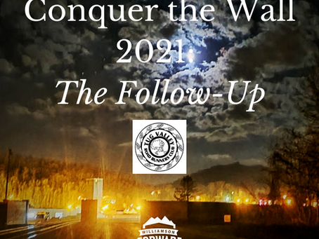 Conquer the Wall 2021: The Follow-Up
