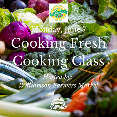 #LocalEvent: Cooking Fresh Cooking Class