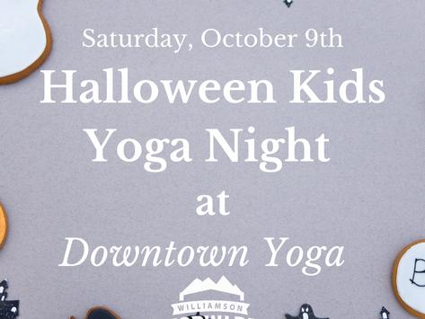 Halloween Kids Yoga at Downtown Yoga
