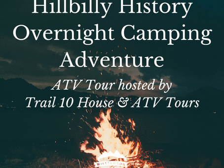 Overnight Adventure Through Feud Country with Trail 10 House & ATV Tours