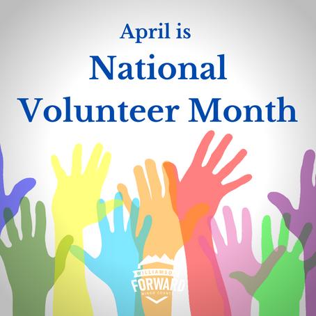 It's National Volunteer Month!