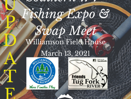 Southern WV Fishing Expo & Swap Meet Update!
