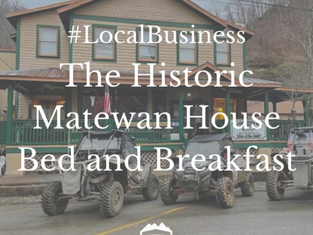 #LocalBusiness: The Historic Matewan House Bed and Breakfast