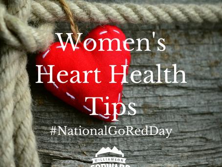 #NationalGoRedDay: Women's Heart Health Tips