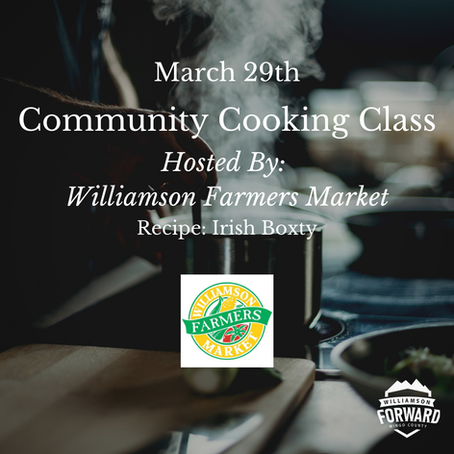 Community Cooking Class: Learn to Cook Irish Boxty