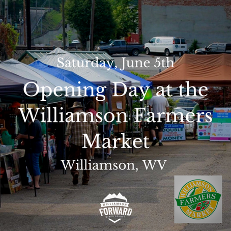 Buy Fresh, Buy Local at the Williamson Farmers Market!