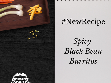 #NewRecipe: Spicy Black Bean Burritos