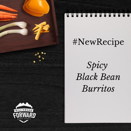#NewRecipe: Spicy Black Bean Burritos
