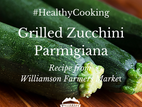 #HealthyCooking: Grilled Zucchini Parmigiana