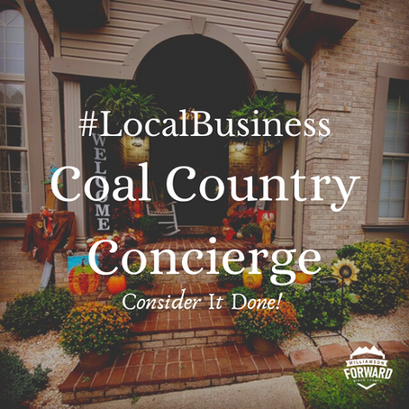 #LocalBusiness: Coal Country Concierge
