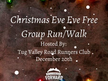 It's the Christmas Eve Eve Run/Walk!