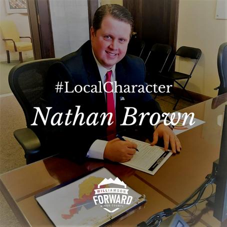 #LocalCharacter: Nathan Brown