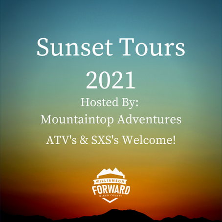 Sunset Tours 2021 with Mountaintop Adventures