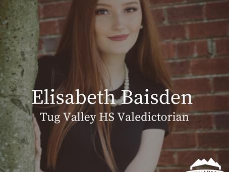 Tug Valley High School Valedictorian: Elisabeth Baisden