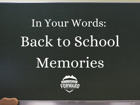 In Your Words: Back to School Memories